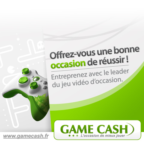 franchise Game Cash devenir franchisé commerce de loisir