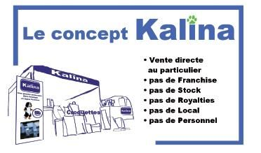 Franchise Kalina alimentation chien chat chevaux