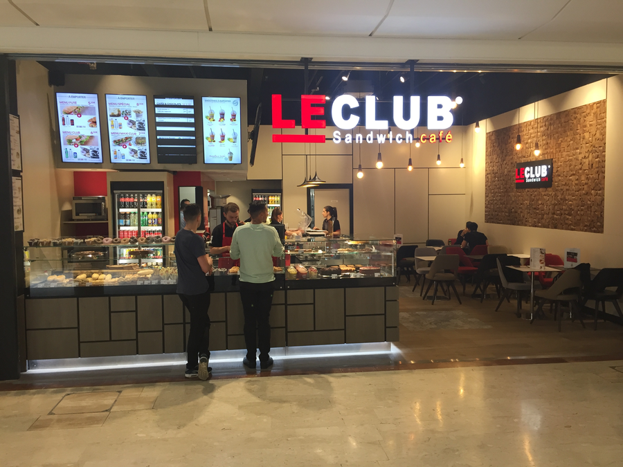 FRANCHISE LE CLUB SANDWICH CAFE