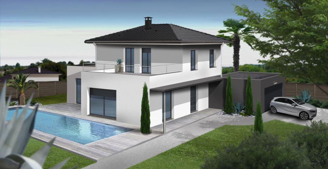 Franchise logisbox franchiseur construction for Maison moderne 140m2