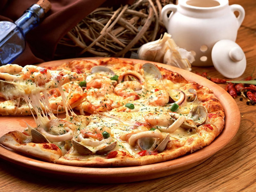 pizza fruits de mer pizzanomie