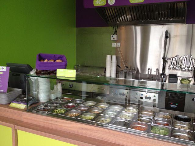 Franchise green is better restaurants sur mesure for Amenagement cuisine restaurant
